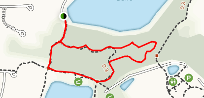 Heron's Nest Nature Park Loop Map