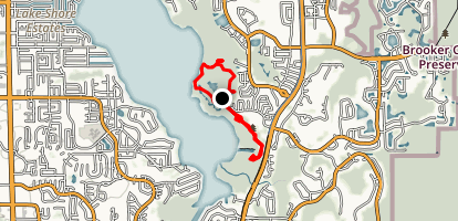 John Chestnut Sr. Park Trail I Map