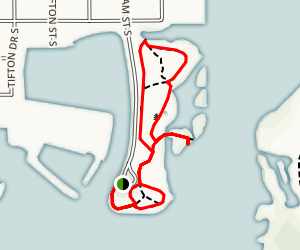Clam Bayou Nature Park Loop Map