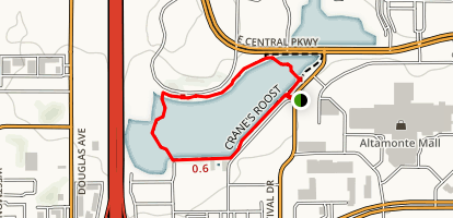 Cranes Roost Park Map