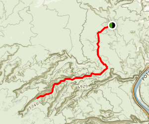 Bull Canyon Trail Map