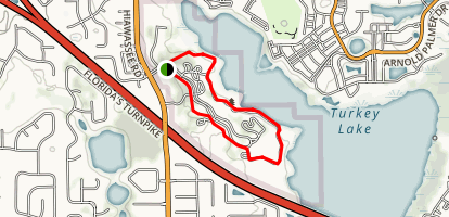 Turkey Lake Nature Trail Map