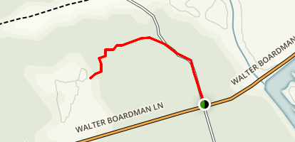 Boardman Pond Observation Platform Trail Map