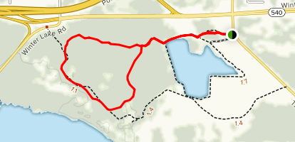 Acorn Hammock Trail Map