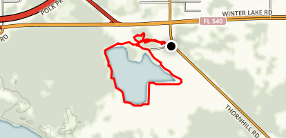 Cypress Dome Loop Trail Map