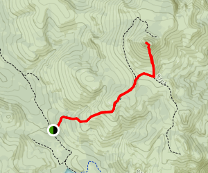 Hawkins Peak Map