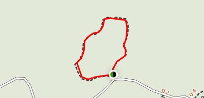 Young Hammock Trail Map