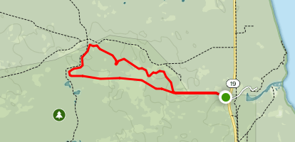The Yearling Trail Map