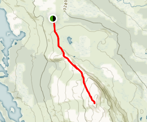 Grønsennknipa Trail Map