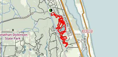 Wildlife Observation Site Trail Map