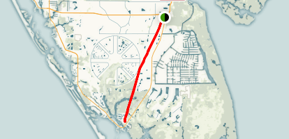 Cape Haze Pioneer Trail Map