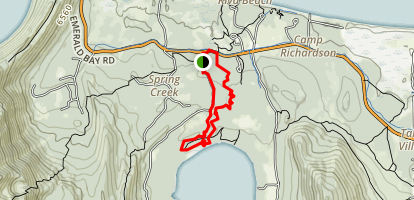 Taylor Creek Loop Map