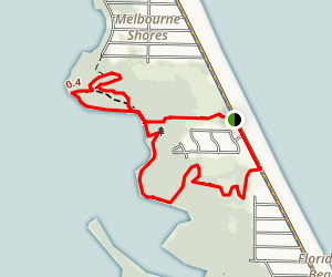 Maritime Hammock Sanctuary Loop Map