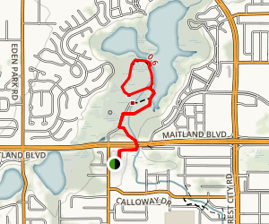 Lake Lotus Park Loop Trail Map