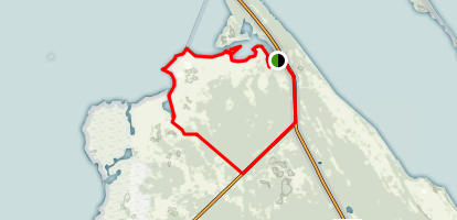 Marsh Bay and Dummit Creek Loop Trail Map