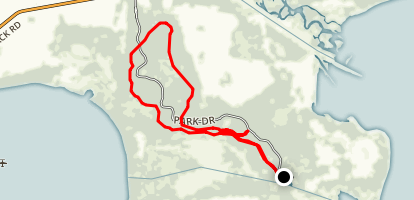 Lake Kissimmee Loop Trail Map