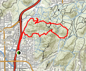 Perl Charles Memorial Trail (#1A) Map