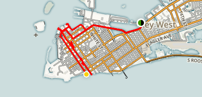 Key West City Walk Map