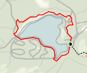 Open Pond Trail Map