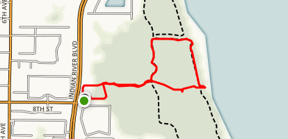 Lagoon Greenway Trail Map
