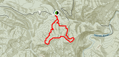 Trimble Mountain Map