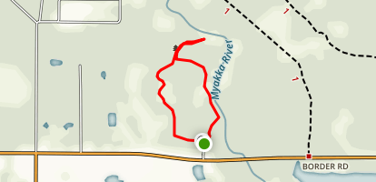 Sleeping Turtle Trail (North) Map