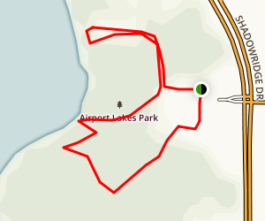 Airport Lakes Trail Map