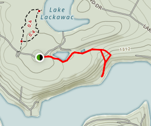 Big Lake Trail Map