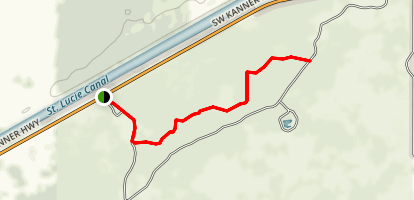 Dupuis Reserve State Forest Trail Map