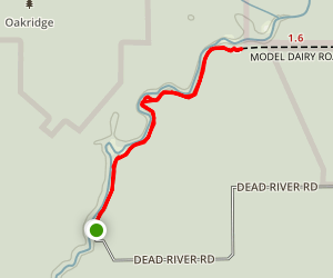 Dead River Trail Map