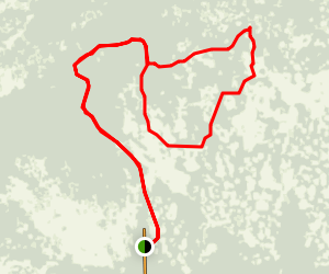 Bear Island Mountain Bike Loop Map