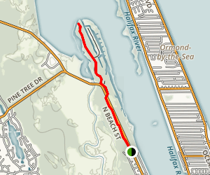 North Beach Trail Map