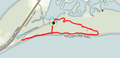 Golden Orb Trail Map