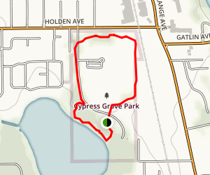 Cypress Grove Park Loop Trail Map