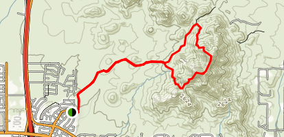 Daisy Mountain Trail Map