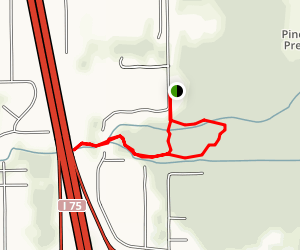 Imperial River Loop Trail Map