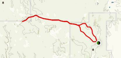Butte Creek Trail Map