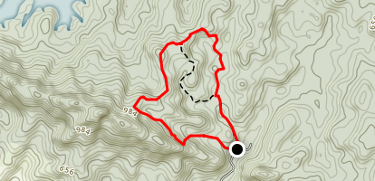 Kemensah Loop Trail Map