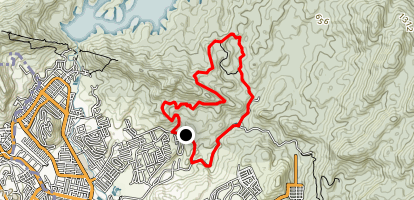 Kemensah Trail Map