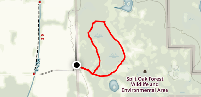 Split Oak Swamp Trail Map