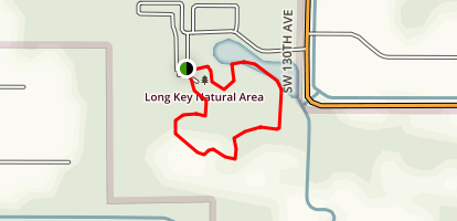 Long Key Natural Area Loop Trail Map