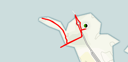 West Fort Island Trail Map