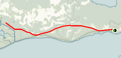 Coastal Pairie Trail Map