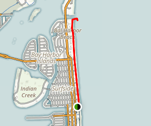 Bal Harbour Trail Map