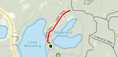 Lake Trail Map