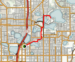 Dinky Line Trail Map