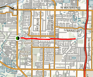 Town and Country Greenway Map
