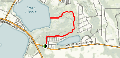 Lake Lizzie Trail Map
