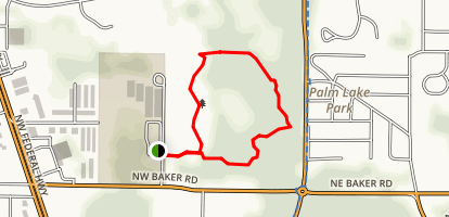 Haney Creek Trail Map