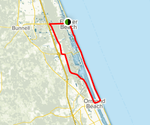 Ormond Scenic Loop and Trail Map